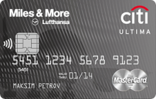 Кредитная карта «Citi Ultima Miles & More» от банка Ситибанк