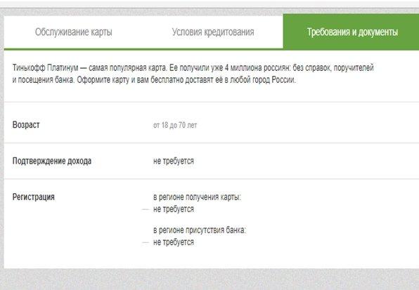 Кредитная карта Тинькофф 120 дней без процентов