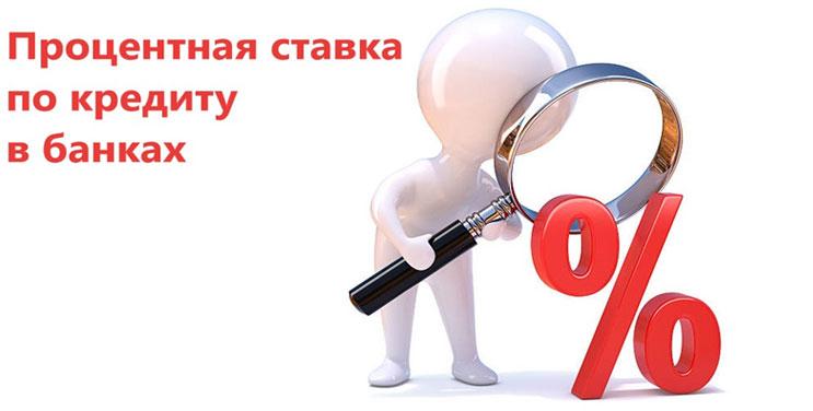 Процентная ставка по кредиту в банках