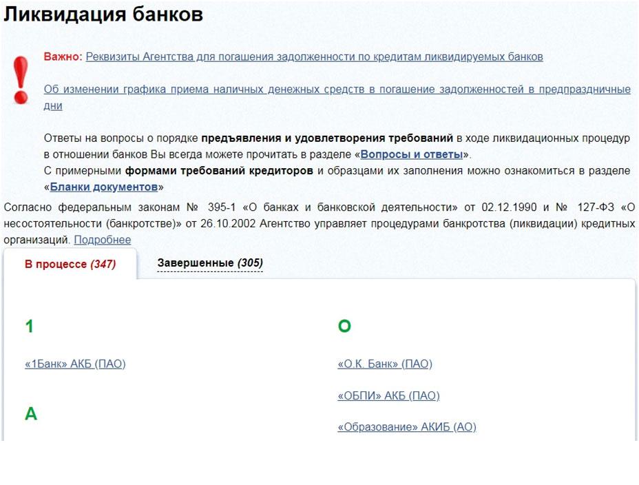 асв официальный сайт банкротства банков