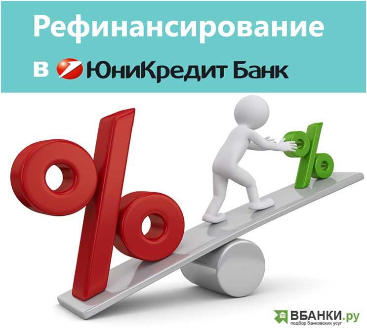 рефинансирование кредита юникредит банк